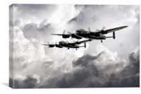 Once in a Lanc Time, Canvas Print