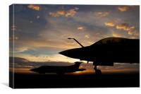 Buccaneer Sunset, Canvas Print