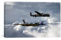 Avro Brothers, Canvas Print