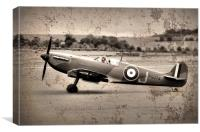 Spitfire Mk1A, Canvas Print