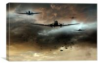 Normandy Invasion, Canvas Print