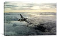Spitfire Halo, Canvas Print