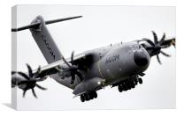 Grizzly A400M , Canvas Print
