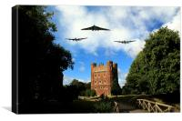 Avro Run In , Canvas Print