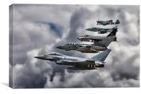RAF Family Tree , Canvas Print
