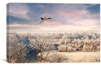 Vulcan Winter , Canvas Print