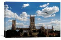BBMF Escort , Canvas Print