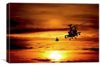 Apaches , Canvas Print