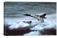 Vulcan Formation - Winter, Canvas Print