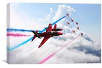 RAF Ambassadors , Canvas Print