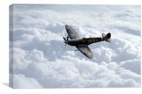 The Glorious Spitfire , Canvas Print