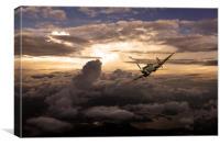 Spitfire Wonder , Canvas Print