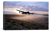 A Frosty Lancasters Morning, Canvas Print