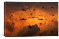 Airborne Invasion , Canvas Print