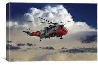 Royal Navy Rescue, Canvas Print