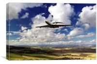 VC-10 Fly By , Canvas Print
