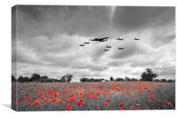 Battle Of Britain Anniversary - Selective, Canvas Print