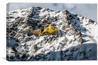 Mountain Rescue , Canvas Print
