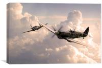 Spitfire Angels , Canvas Print