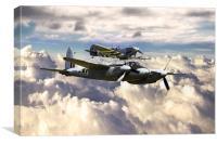 RAF Firepower, Canvas Print