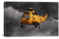 SAR Sea King, Canvas Print