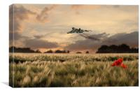 Final Vulcan Flight, Canvas Print