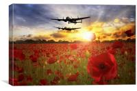 The Lancasters , Canvas Print
