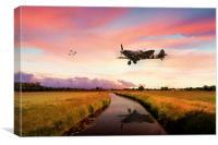 Spitfires Return, Canvas Print