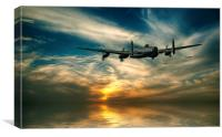 Lancasters Loose Formation, Canvas Print