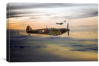 Summer Spitfires, Canvas Print