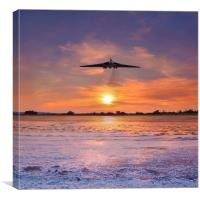 The Vulcan Pass - Square, Canvas Print