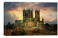 Lancaster Bombers Tour, Canvas Print