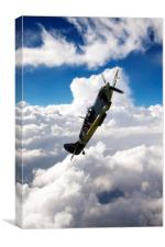 Spitfire Dance, Canvas Print