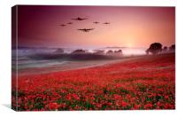 Battle of Britain Heroes, Canvas Print