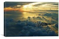 Vulcan Cloudscape, Canvas Print