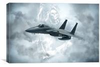 F15 Reaper, Canvas Print
