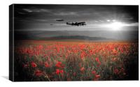 Halifax Bomber Boys, Canvas Print