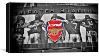 Emirates Stadium, Canvas Print