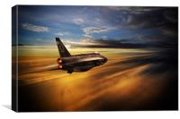 Mach 2 Legend, Canvas Print