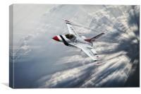 Thunderbird Flight Leader, Canvas Print