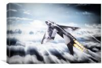 Lightning Thunder, Canvas Print