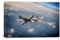 Hurricane Squadron, Canvas Print