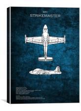 BAC Strikemaster, Canvas Print