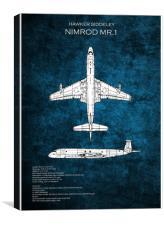 Nimrod MR.1, Canvas Print