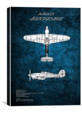 Hawker Hurricane, Canvas Print