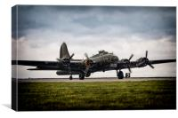 B-17 Flying Fortress, Canvas Print