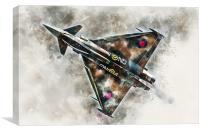 RAF Typhoon GiNA - Painting, Canvas Print