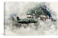 Buccaneer at The Rock - Painting, Canvas Print