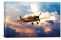 Supermarine Spitfire MkI G-CGUK, Canvas Print