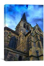 Wentworth Church, Canvas Print
